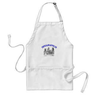Indianapolis Skyline Aprons