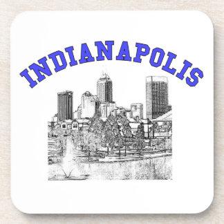 Indianapolis Skyline Beverage Coaster
