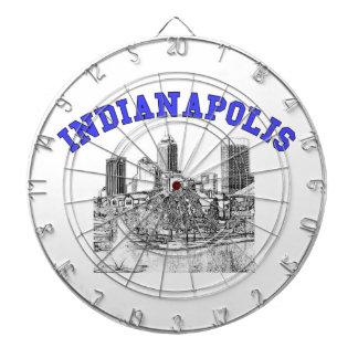 Indianapolis Skyline Dartboards