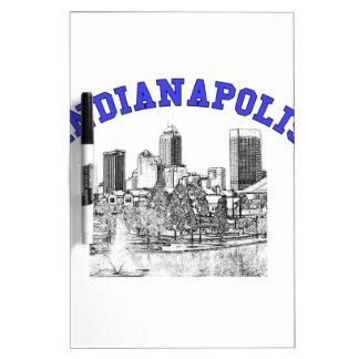 Indianapolis Skyline Dry-Erase Whiteboards