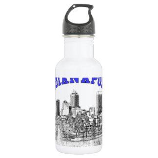 Indianapolis Skyline 18oz Water Bottle