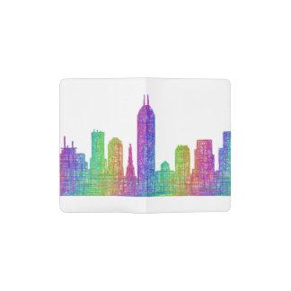 Indianapolis skyline pocket moleskine notebook