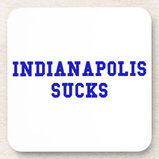 Indianapolis Sucks Coaster
