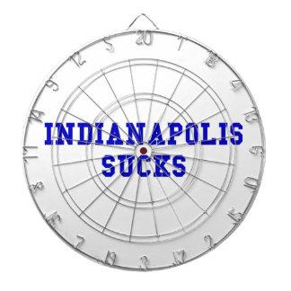Indianapolis Sucks Dartboard With Darts
