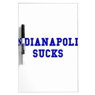 Indianapolis Sucks Dry Erase Board