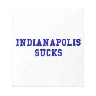 Indianapolis Sucks Memo Note Pad