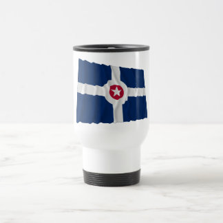 Indianapolis Waving Flag Coffee Mug