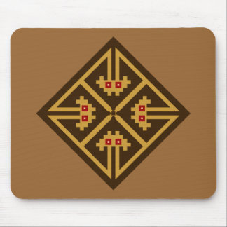 Indianer Symbol Native American Mauspads