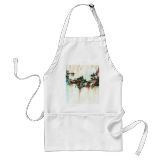 Indication Original Abstract Painting Standard Apron