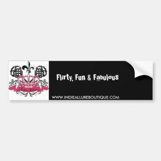 Indie Allure Bumper Sticker