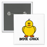 Indie Chick Buttons