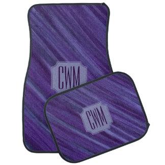 Indifferent Auto | Monogram Lilac Violet Purple | Car Mat