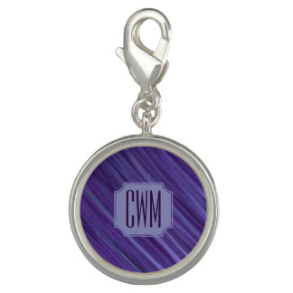 Indifferent Bling | Monogram Purple Lilac Lavender