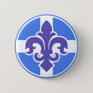 Indigene du Quebec 6 Cm Round Badge
