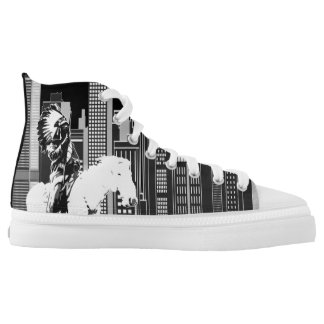 Indigenous Hieroglyphics High Tops