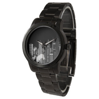 Indigenous Hieroglyphics Wrist Watches