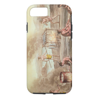 Indigenous natives from Florida preparing and cook iPhone 8/7 Case