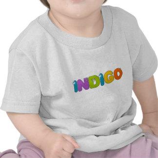 Indigo - animal alphabet shirt