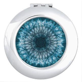 Indigo Blue Mandala Makeup Mirrors