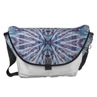 Indigo Blue Tie Dye Messenger Bags