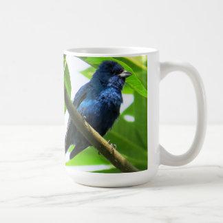 Indigo Bunting 15 oz Coffee Mug