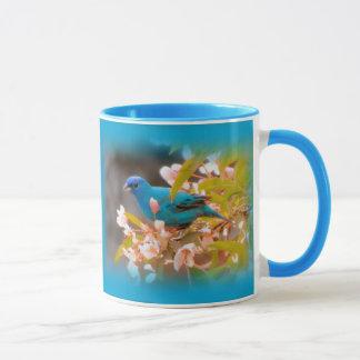 Indigo Bunting Blue Mug