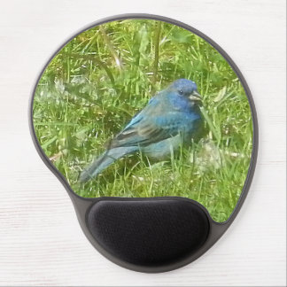 Indigo Bunting Gel Mousepad Gel Mouse Mat