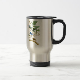 Indigo Bunting John James Audubon Birds of America Travel Mug