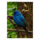 Indigo Bunting Mother's Day Card