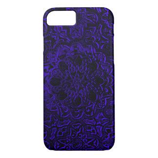 Indigo Demon Lotus Pattern Mandala iPhone iPhone 7 Case
