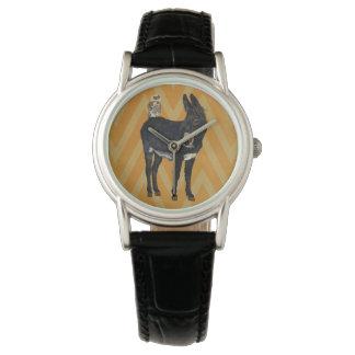 INDIGO DONKEY & OWL Watch