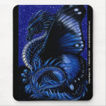 Indigo Dragon Fly Mousepad