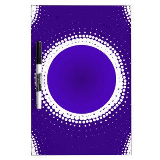 Indigo Eclipse Dry Erase Board