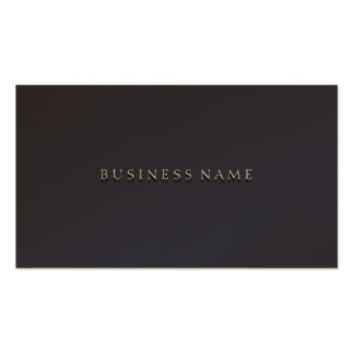 Indigo Elegant Business Cards