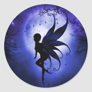 Indigo Fairy Sticker