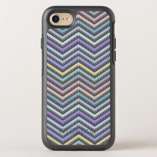 Indigo Gradient Chevron Pattern Phone Case
