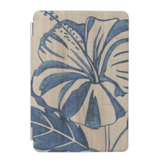 Indigo Hibiscus iPad Mini Cover