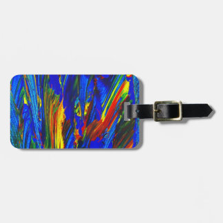 """INDIGO"" KOFFERANHAENGER LUGGAGE TAG"