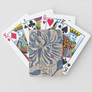 Indigo Mum Bicycle Playing Cards