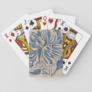 Indigo Mum Playing Cards