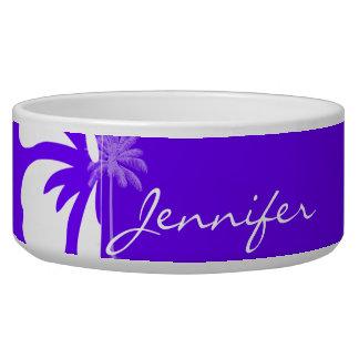 Indigo, Purple Hawaiian Palm Tree
