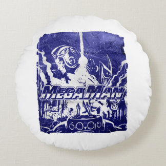 Indigo Round Cushion