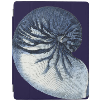 Indigo Shells VII iPad Cover