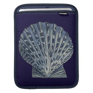 Indigo Shells VIII iPad Sleeve