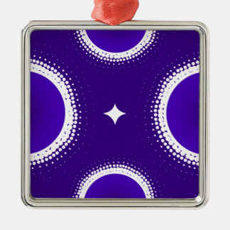 Indigo Sky Christmas Ornament
