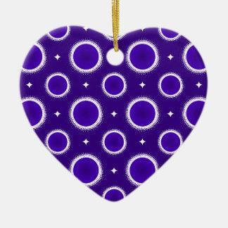 Indigo Sky Christmas Ornament