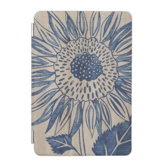 Indigo Sunflower iPad Mini Cover