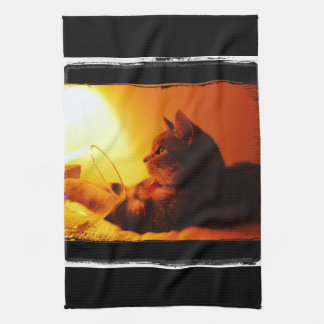 Indigo's Wine Glass Towels