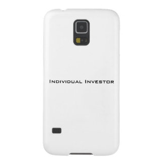 Individual Investor Galaxy case Galaxy S5 Covers