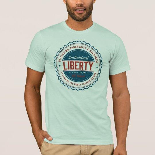 Individual Liberty Customisable Graphic Shirts